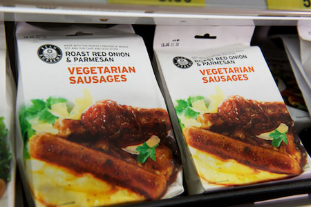 Vegetarian products are also available at Malibu Fresh Essentials in Rockingham