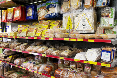 Fresh bread, rolls, pizza bases gluten free and much more instore