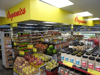 The wide Organic Food selections at Malibu Fresh Essentials in Rockingham WA