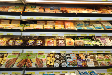 Vegetarian products from Malibu Fresh Essentials Rockingham