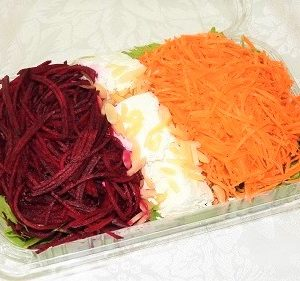 beetroot and carrot salad