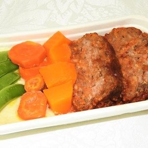 meatloaf with veg